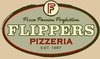 Flippers Pizza logo