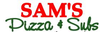 Sam's Pizza & Subs logo