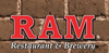 The Ram Restaurant & Brewery logo