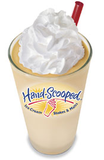 Orange Cream Hand-scooped Ice Cream Shake