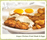 Angus Chicken-fried Steak & Eggs