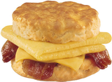 Loaded Omelet Biscuit