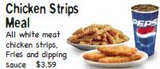 Chicken Strips Meal