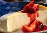 New York-style Cheesecake With Strawberries