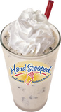 Chocolate Hand-scooped Ice Cream Shake